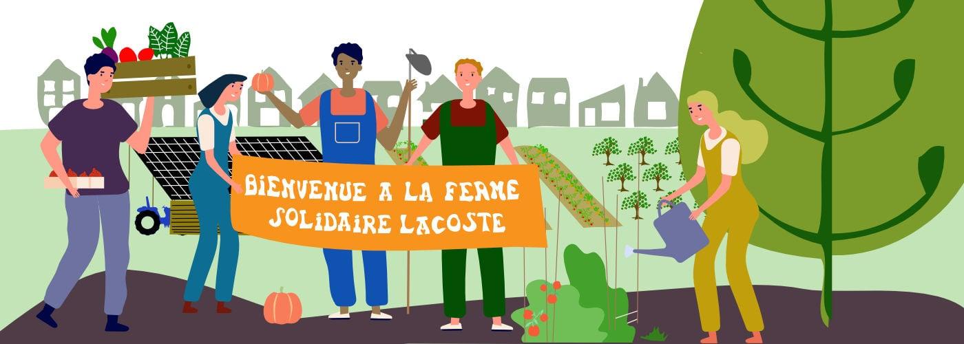 Ferme Solidaire de l'écolieu Lacoste à Tarnos