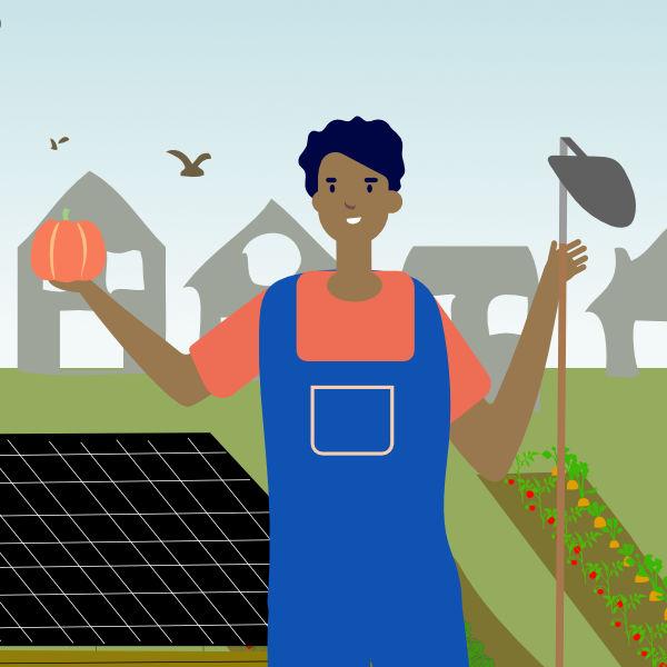 Ferme Solidaire Écolieu Lacoste : envie de travail